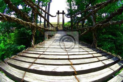 木製 吊 り 橋