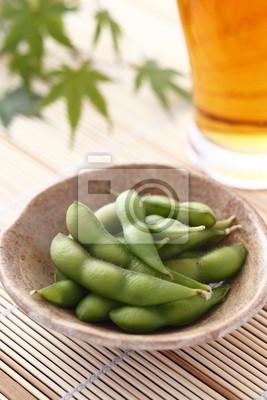枝豆 と ビール