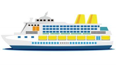 Naklejka 大型 客船