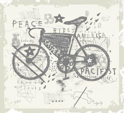 Naklejka Велосипед
