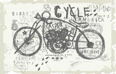 Naklejka Мотоцикл