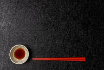 Naklejka 箸 Japan's representative cutlery chopsticks photos