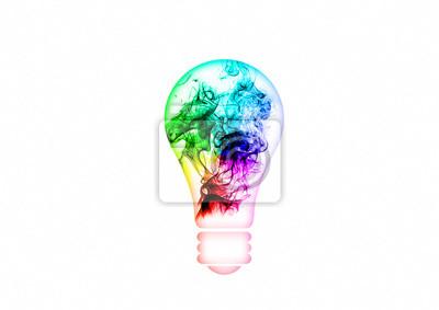 抽象的な電球