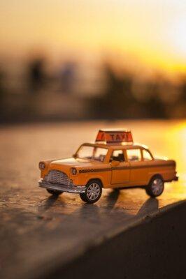 Naklejka Yellow Cab