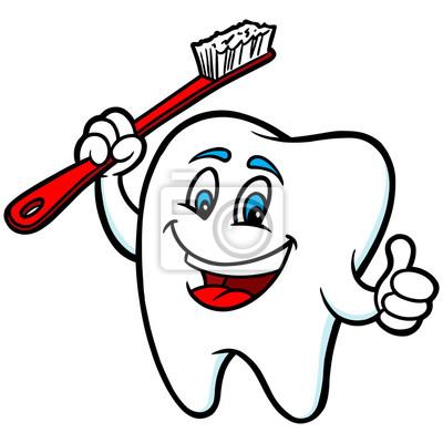 Ząb maskotka