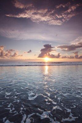 Naklejka Zachód słońca na Bali