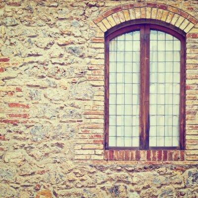 Naklejka Zamknięte okno