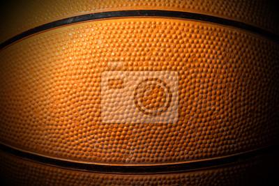 Zamknij się stary czarny i pomarańczowy Koszykówka