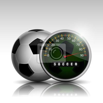 zegar piłka