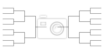 Naklejka zespołowe szablony wsporników turniejowych