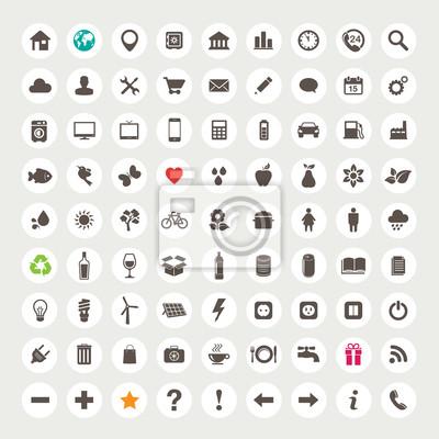 Zestaw ikon internetowych