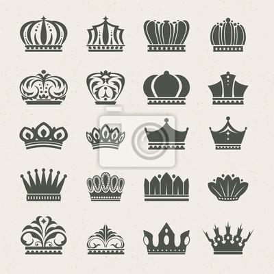 Zestaw ikon koronnych