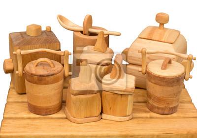 Zestaw kuchenny drewniany