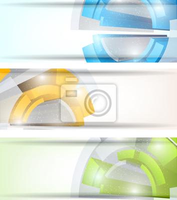 Zestaw tech transparenty