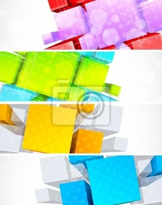 Zestaw transparenty z 3d element