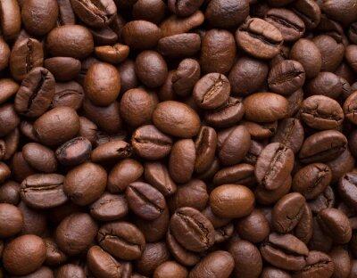 Naklejka Ziarna kawy
