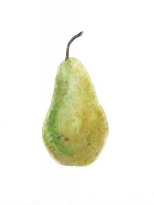 Naklejka zielone gruszki