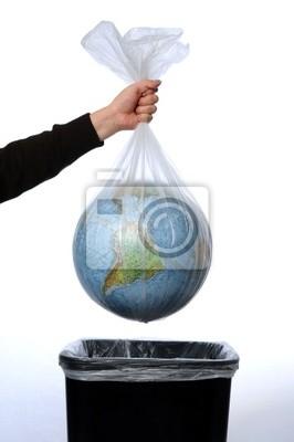 Ziemia w worku na śmieci