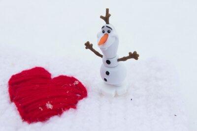 Zima Miłość na Walentynki