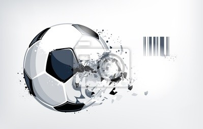 Złamane piłka