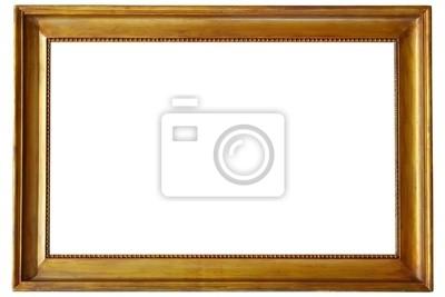 złote ramki na zdjęcia