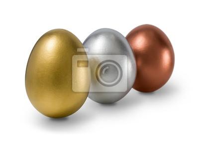 Złoto, srebro, brąz jaj