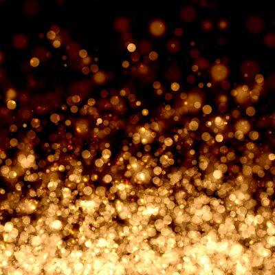 Złoty abstrakcyjne tło światło