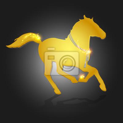 złoty koń