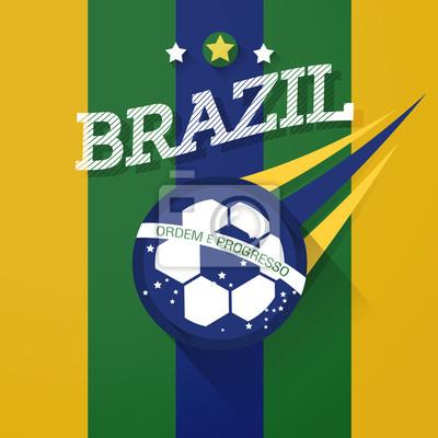 Znak brazylia piłka nożna