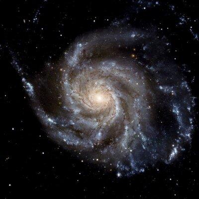 Naklejka Zobacz obraz systemu Galaxy pojedyncze elementy tego zdjęcia dostarczone przez NASA