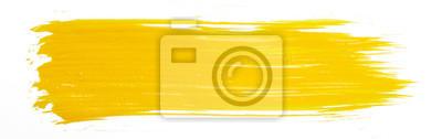 Naklejka Żółta farba