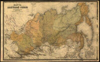 Naklejka ZSRR, ZSRR, map