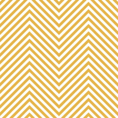 Naklejka Zygzak Żółty Wzór. Fala tła w wektorze