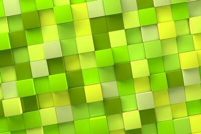 Obraz 3d kostki tle