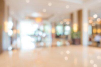 Obraz Abstract blur interior hotel lobby background .