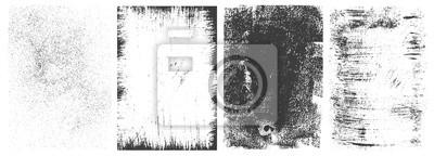 Obraz Abstract grunge rectangular frames collection