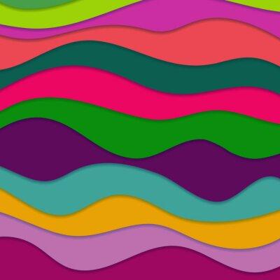 Obraz Abstract tło faliste
