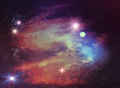 Obraz Abstractive kosmiczna Kontekst