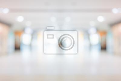 Obraz Abstrakcjonistycznej plamy szpitala i kliniki piękny wnętrze dla tła