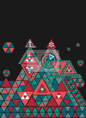 Abstrakcyjne Figury Geometryczne Obrazy Na Sciane Obrazy Hipster