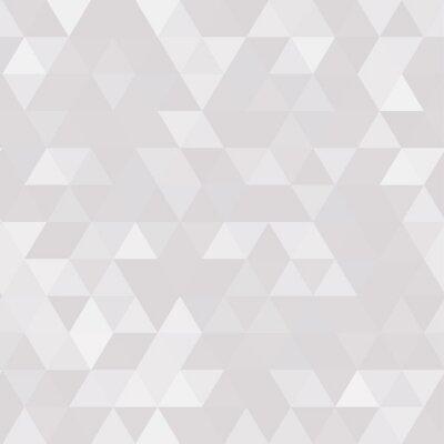 Obraz Abstrakcyjne geometryczne tle trójkątnym wielokąta