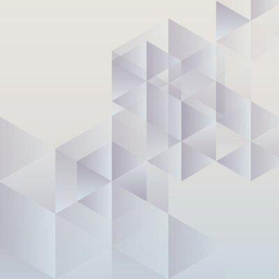 Obraz Abstrakcyjne geometryczne tło, nowoczesny projekt trójkątne