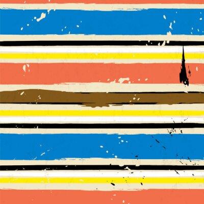Obraz abstrakcyjne tło z plamami, udarów i paskiem wzór,