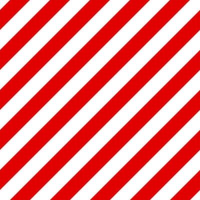 Obraz Abstrakcyjny wzór bez szwu przekątnej rozłożony z czerwonego i białego st