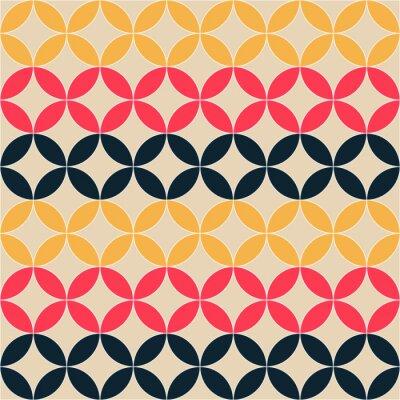 Obraz abstrakcyjny wzór geometryczny artystyczny