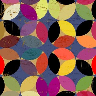 Obraz abstrakcyjny wzór koło