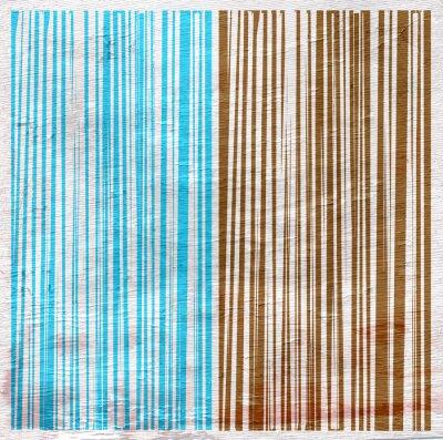 Obraz abstrakcyjny wzór na fakturze słojów drewna