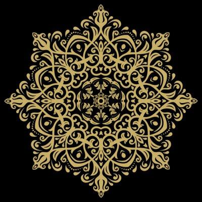 Obraz Adamaszek orientalny wzór
