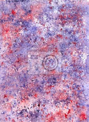 Akwarela fioletowo-fioletowym tle