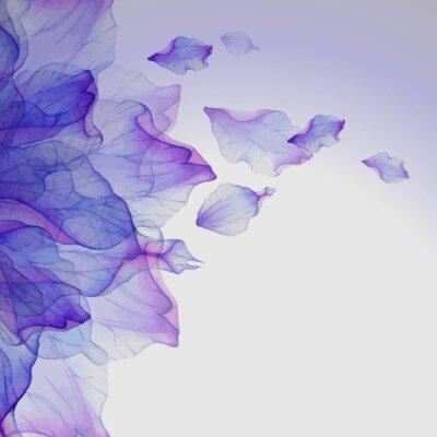 Obraz Akwarela kwiatowe wzory rundy.